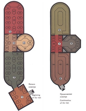 Plan-scheme of the Armoury Chamber